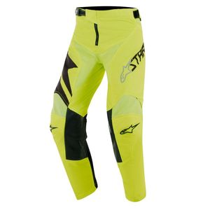 Pantalon cross YOUTH RACER FACTORY YELLOW FLUO  Black Yellow Fluo