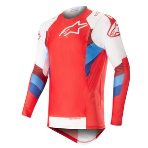 Maillot cross SUPERTECH RED WHITE 2019 Red/White