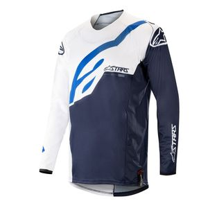 Maillot cross TECHSTAR FACTORY WHITE DARK NAVY 2019 White Dark Navy