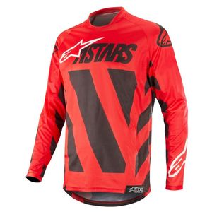 Maillot Cross Alpinestars Racer Braap Cool Black Red White 2019