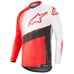 Maillot cross RACER SUPERMATIC RED BLACK WHITE 2019 Red Black White