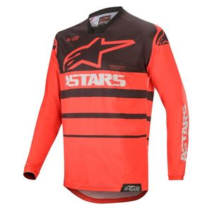 Maillot cross RACER SUPERMATIC - BRIGHT RED BLACK 2020 Bright Red Black
