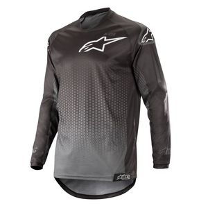 Maillot Cross Alpinestars Racer Graphite Black Anthracite 2019