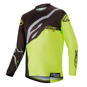 Maillot Cross Alpinestars Youth Racer Factory Yellow Fluo 2019