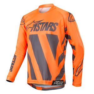 Maillot Cross Alpinestars Youth Racer Braap Anthracite Orange Fluo 2019
