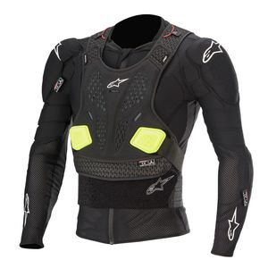 Gilet de protection BIONIC PRO V2 - BLACK YELLOW FLUO 2021 Black/Yellow