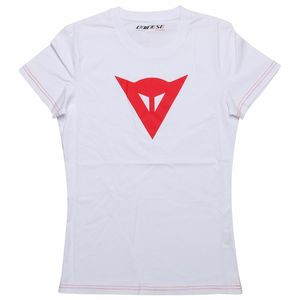 T-Shirt manches courtes SPEED DEMON LADY  White/Red
