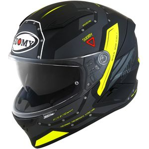 Casque SPEEDSTAR - AIRPLANE MATT  Matt Grey Yellow