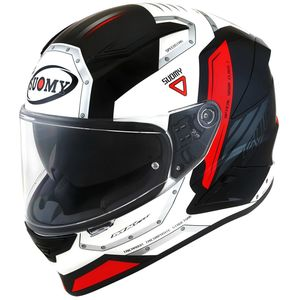 Casque SPEEDSTAR - AIRPLANE  White Red