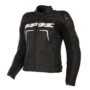 Blouson EVORIDER LEATHER LADY  Noir/Blanc