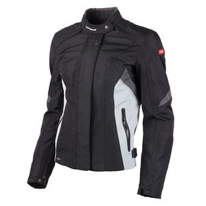 Blouson FLASH H2OUT LADY  Noir/Gris/Blanc
