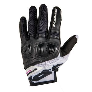 Gants FLASH-R EVO LADY  Noir/Blanc