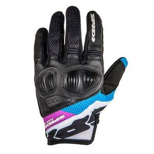 Gants FLASH-R EVO LADY  Noir/Fuchsia