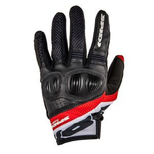 Gants FLASH-R EVO LADY  Noir/Rouge