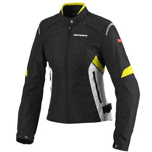 Blouson FLASH TEX LADY  Noir/Jaune