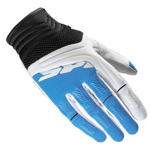 Gants cross Spidi MEGA-X LADY 2018 Blanc/Bleu