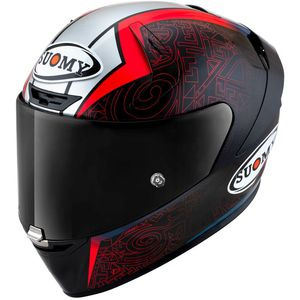 Casque SR-GP - BAGNAIA REPLICA  Black Red Blue