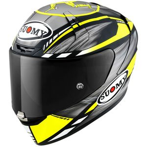 Casque SR-GP - ON BOARD MATT  Grey Yellow Fluo Matt