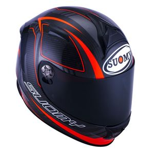 Casque SR SPORT - CARBON RED  Rouge