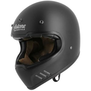 Casque SUPER RETRO  Matt black