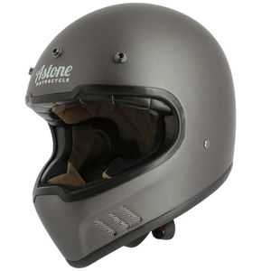 Casque SUPER RETRO  Matt grey