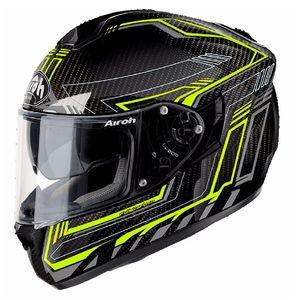 Casque ST 701 - SAFETY FULL CARBON  Jaune