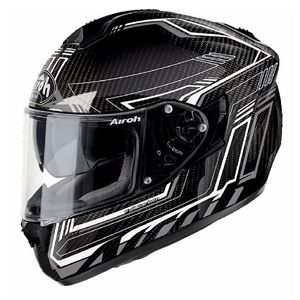 Casque ST 701 - SAFETY FULL CARBON  Blanc