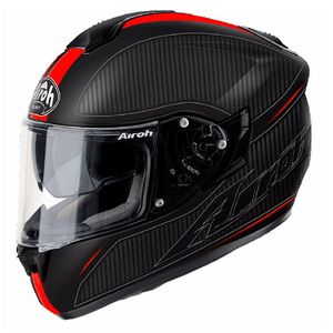 Casque ST 701 - SPLASH MATT  Rouge