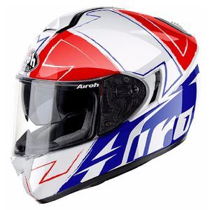 Casque ST 701 - WAY  Bleu/Rouge