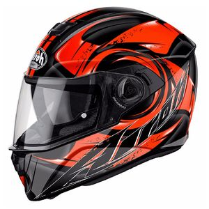 Casque STORM - ANGER  Orange
