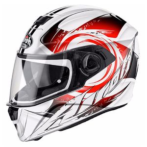 Casque STORM - ANGER  rouge