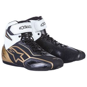 Baskets Alpinestars Stella Faster-2 - Black White Gold