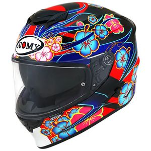 Casque STELLAR - FLOWER BLACK BASE  Multicolore