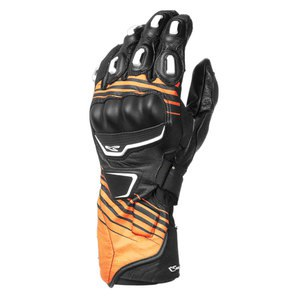 Gants STREET R  Noir/Orange