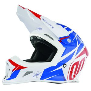 Casque cross STRIKER EXOD - BLUE RED 2018 Bleu/Rouge