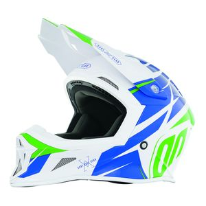 Casque cross STRIKER EXOD - BLUE GREEN 2019 Bleu/Vert
