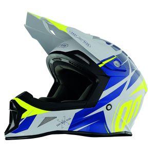 Casque Cross Shot Destockage Striker Exod - Grey Neon Yellow 2018