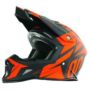 Casque cross STRIKER EXOD NEON ORANGE MAT  2018 Neon Orange