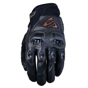 Gants STUNT EVO LEATHER AIR  Marron