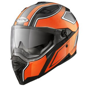 Casque STUNT BLADE  Noir/Orange