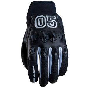 Gants STUNT LEATHER CAMPUS  Noir