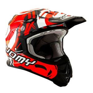 Casque cross MR JUMP - VORTEX - RED 2019 Rouge
