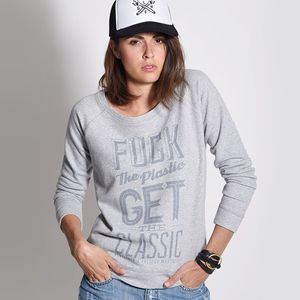 Sweat GET THE CLASSIC  Gris