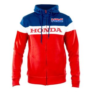 Sweat HRC ZIPPED  Navy White Red