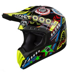 Casque cross SWITCH - FLIPPER - GLOSS 2019 Multicolore