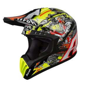 Casque cross SWITCH - PIRATE - GLOSS 2019 Multicolore