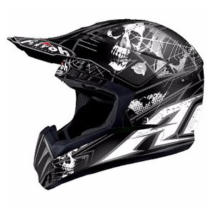 Casque cross SWITCH - SCARY  - MATT 2018 Noir