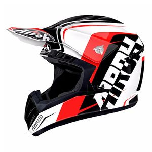 Casque cross SWITCH - SIGN  - RED 2018 Rouge/Noir