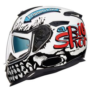 Casque SX.100 - BIG SHOT  White