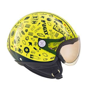 Casque X.60 - KIDS SPOCK  Neon Yellow